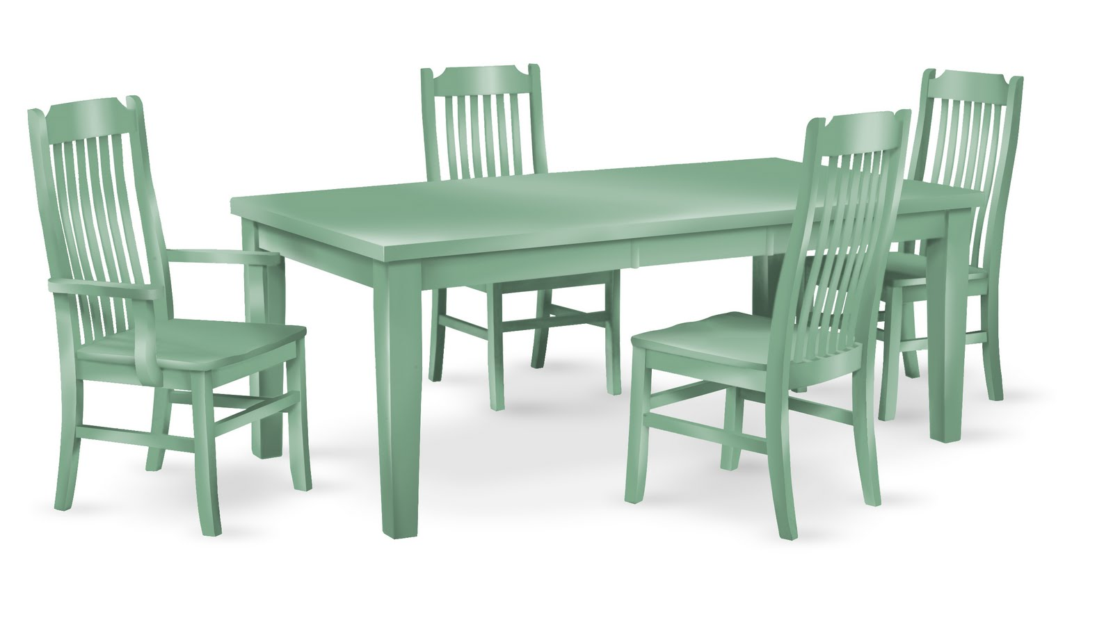 Green Dining Table round kitchen table and chair sets green dining ...