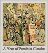 A Year of Feminist Classics button