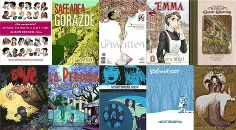Buy Graphic Novels for the Holidays