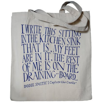 I Capture the Castle tote bag