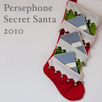 Persephone Secret Santa button