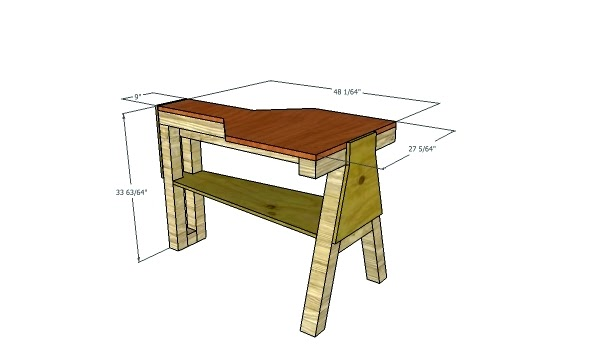 Wood Portable Shooting Bench Plans Knock Down Mba Wood
