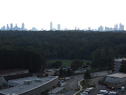 Here you can see the downtown Atlanta skyline.