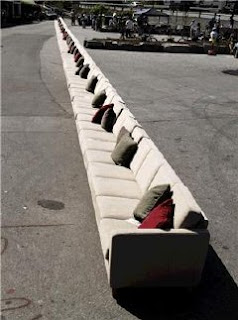 World Longest Sofa In Norway Set Guinness World Record
