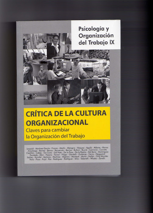 Crítica de la Cultura Organizacional