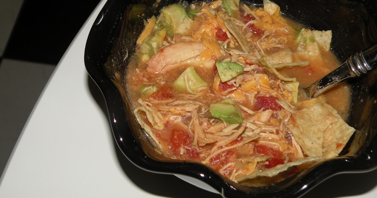 Healthy and easy recipes chicken tortilla soup crock pot for Easy healthy chicken recipes for crock pot
