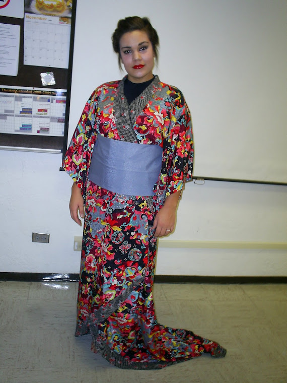 Audrey as Suziki   Madam Butterfly