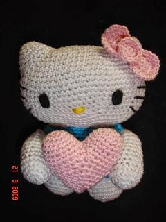 Amigurumi Totoro Patron Espanol : Hello Kitty AMIGURUMIES