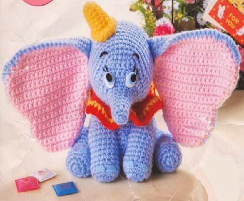 Lacy Knit Patterns : Dumbo AMIGURUMIES