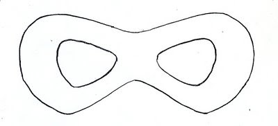 guest post} super hero mask how-to
