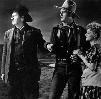 stagecoach 1939 essay The film begins in the dusty little town of tonto, where a stagecoach halts briefly  for a change of horses the driver, buck (andy devine),.