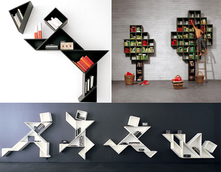Bookcase One I Love This To Me Is Whimsical Fun What Design All About It S Creative Diffe And Yet Functional