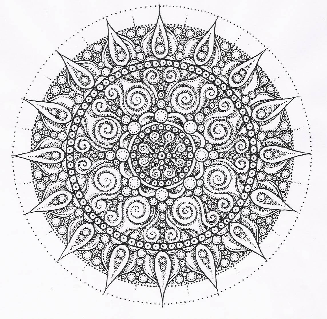 108 best mandala images on pinterest coloring books drawings