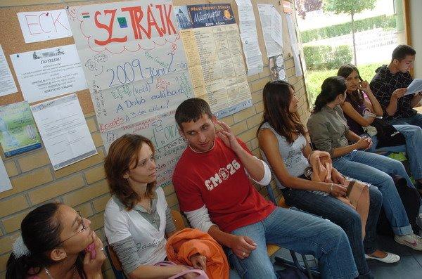 Ülősztrájk, 2009, június 2.