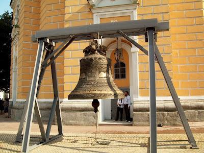 Новый колокол Успенской колокольни