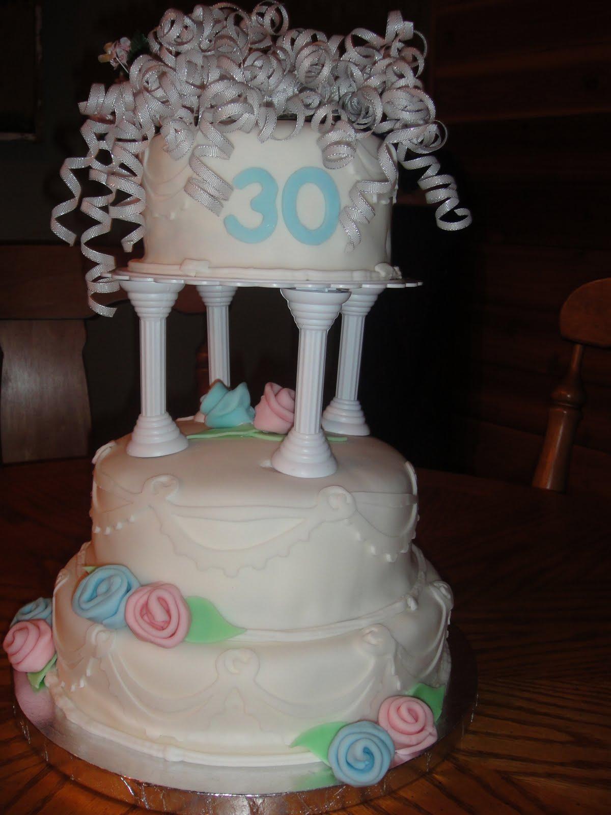 AllieCakes 30th Wedding Anniversary