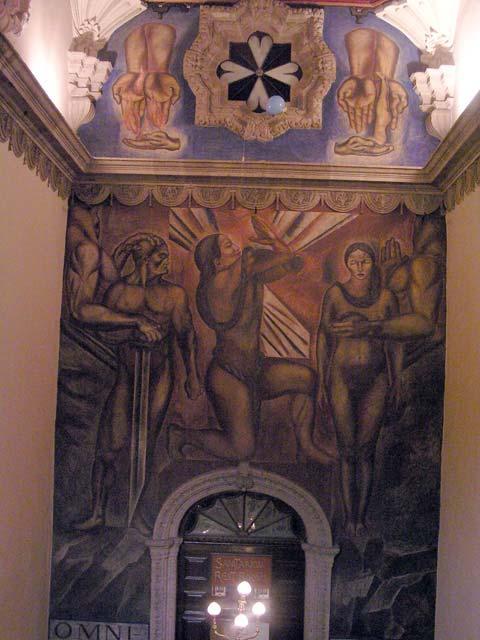 Las peripecias de guia escatologica del df zocalo for El sanborns de los azulejos