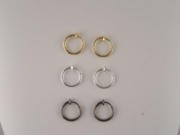 Need A Gift For The Guy In Your Life Easy If He S Looking Non Pierced Clip Hoop Earrings Hop On Over To Thecliponearring