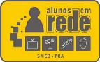 Participamos do projeto Alunos em rede - mídias escolares, clique na imagem para conhecer o projeto