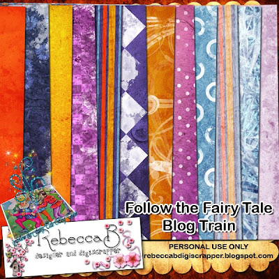 http://rebeccabdigiscrapper.blogspot.com/2009/11/follow-fairy-tale-blog-train-kit.html