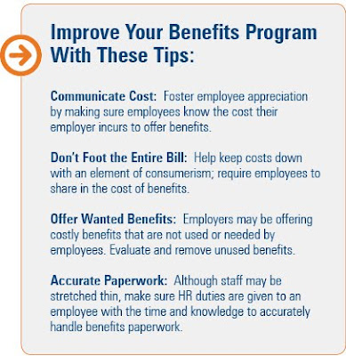 benefits program, benefits, costs, employees