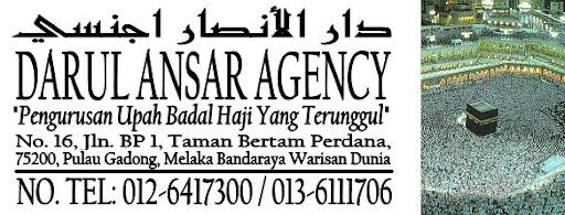DARUL ANSAR AGENCY Pengurusan Upah Haji