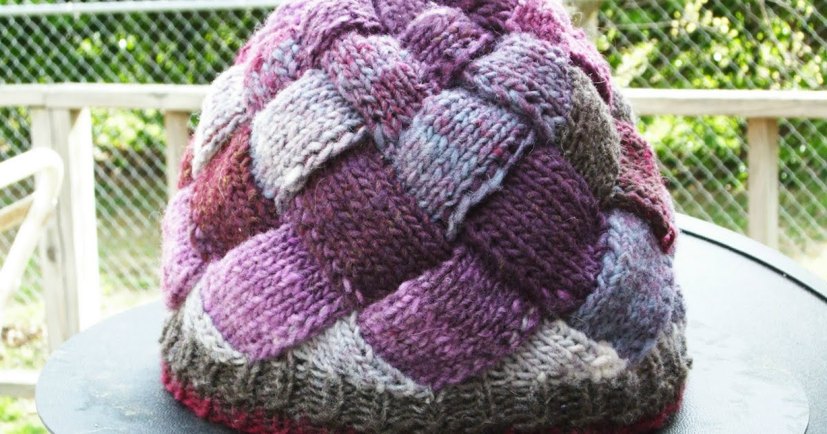 Entrelac Hat Pattern Pattern Central Knittinghelp Forum Community