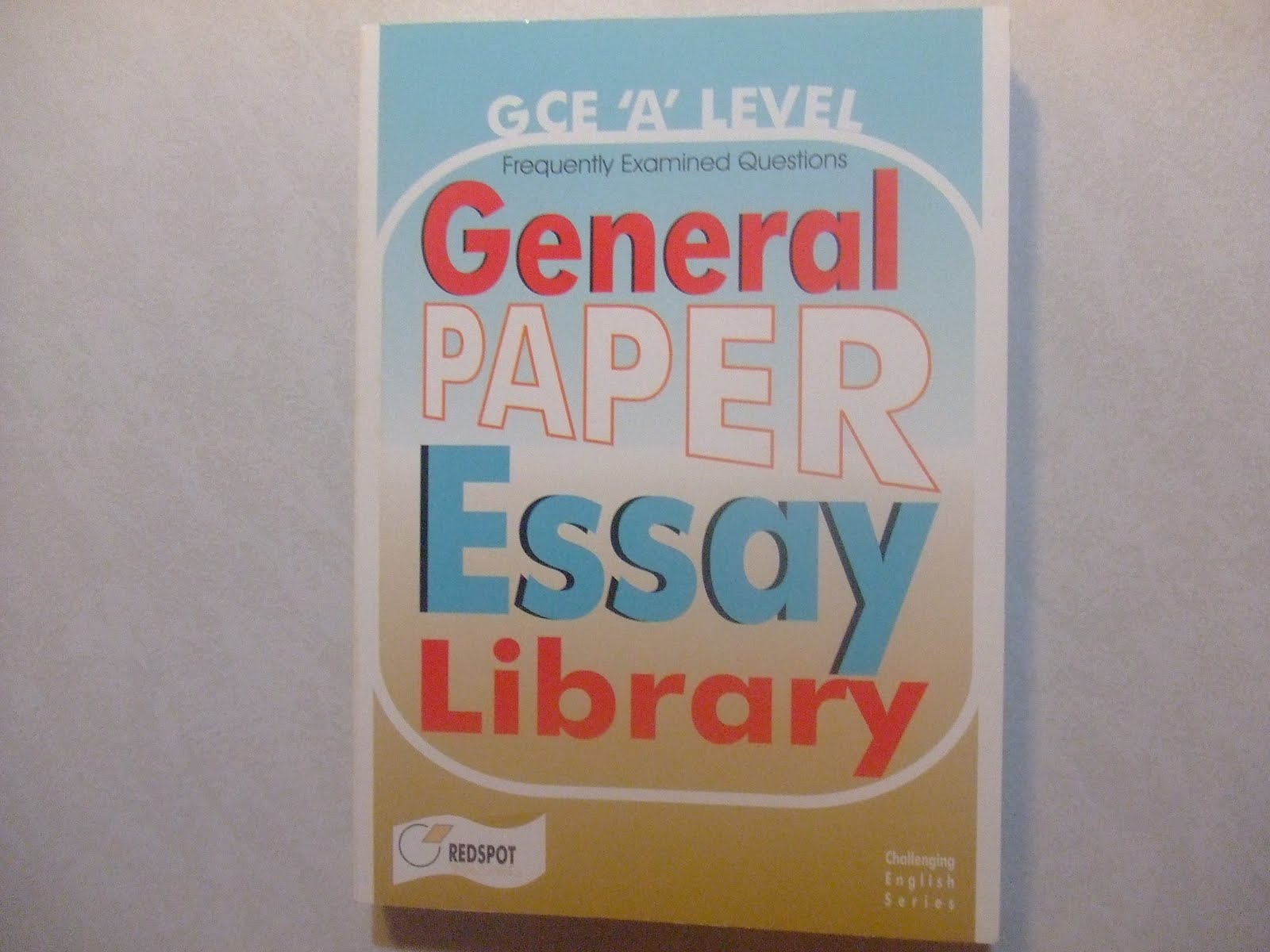 singapore textbooks general paper essay library