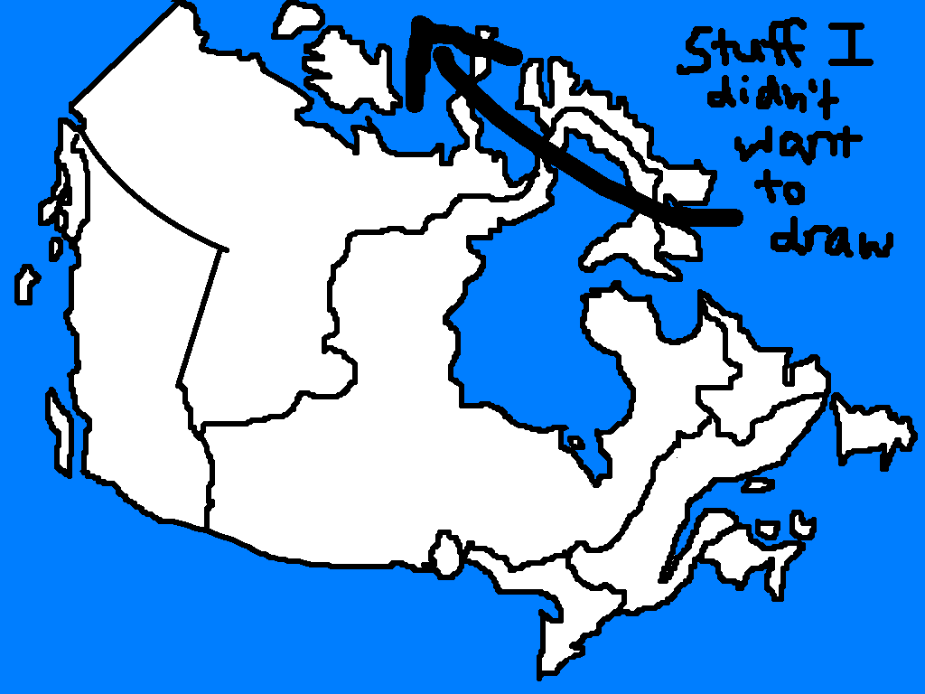 it s amazing how many famous canadians will pop into your head when one sits down and draws a map of canada obviously this is a tactic american foreign