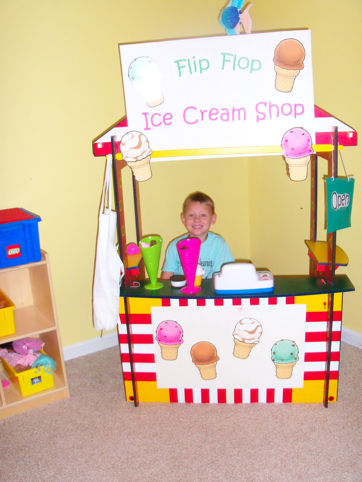 The Thoughtful Spot Day Care Flip Flop Ice Cream Shop