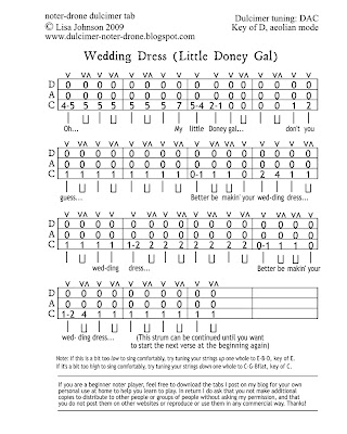 Wedding Dress Chords