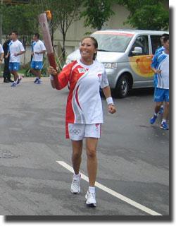 2008 BEIJING OLYMPIC RUN