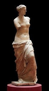 Statuia lui Venus din Milo (Louvre)