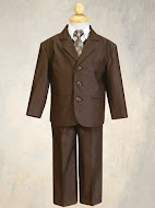 5 piece Boys Suits