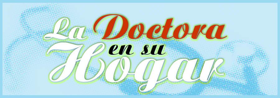 la doctora en su hogar
