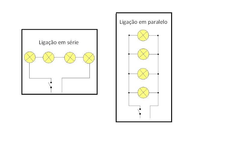 ligação de lampadas
