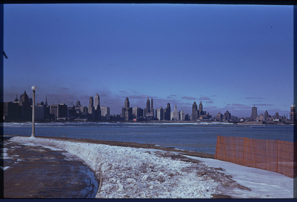 [1941+Skyline+from+Northerly+Island]