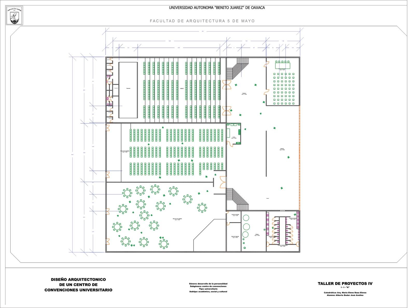 Proceso del dise o arquitectonico de un centro de for Que es una planta arquitectonica