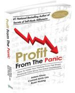 Adam Khoo's Profit From The Panic Book Cover