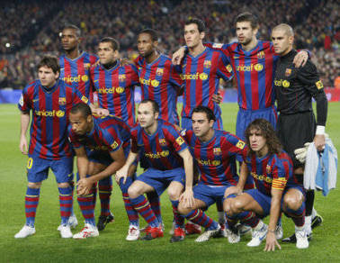 is the FC BARCELONA TEAM