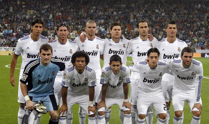 real madrid 2011 team photo. REAL MADRID ideal starting 11