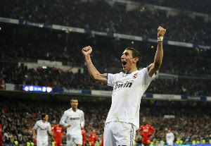 Di.Maria.Real.Madrid-Spanish Soccer