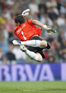 Casillas Spanish Soccer