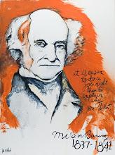 8º presidente - Martin van Buren
