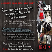 pumped up about a tim burton themed party