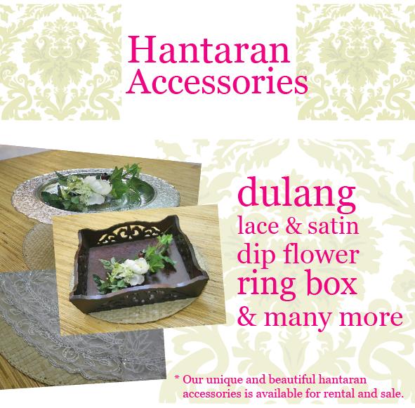 hantaran accessories poster