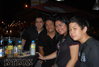 Clear Black Night Halloween Dance Party (Roel, Gabs, Iris, Kenneth