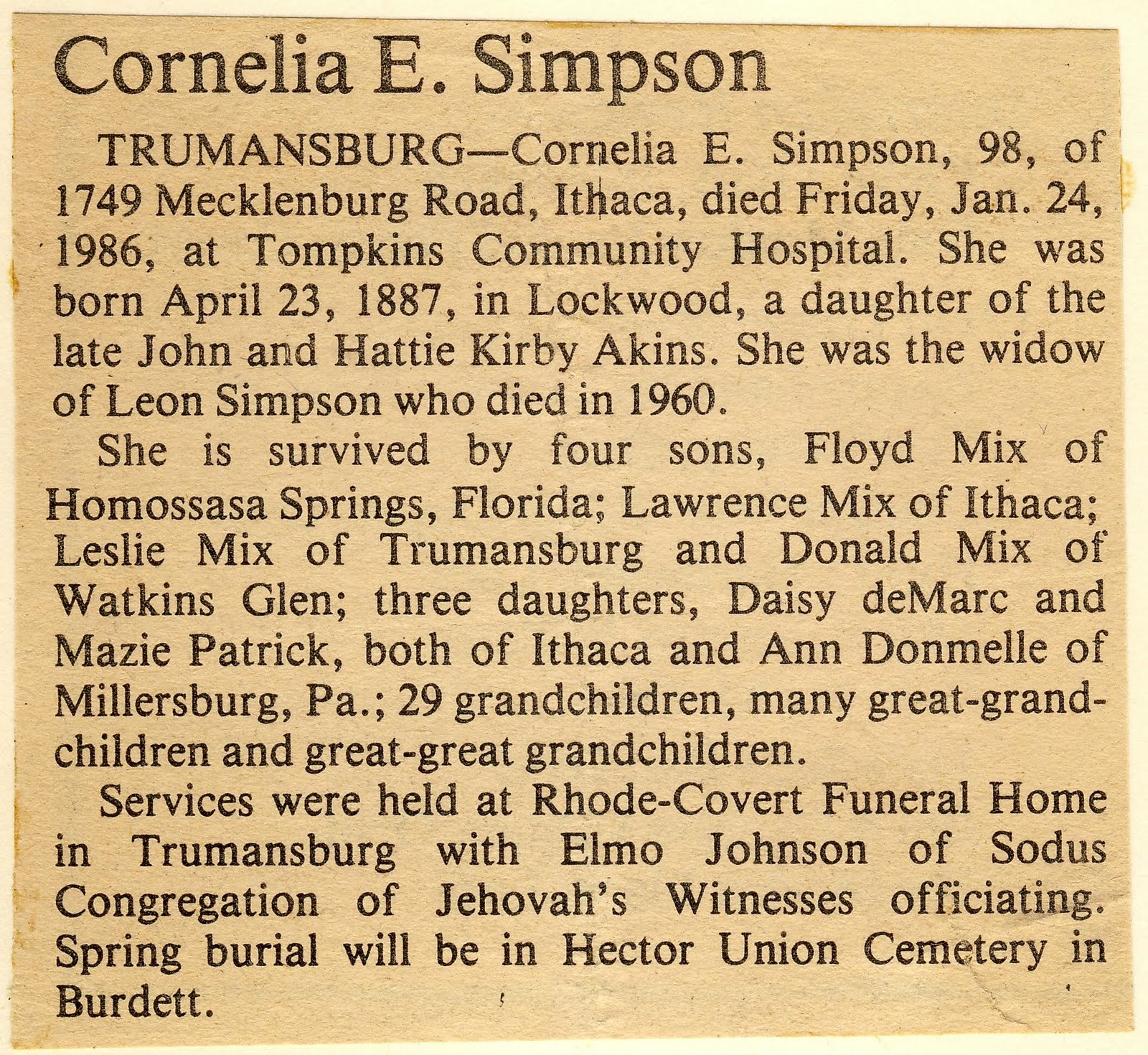 fill in the blank methodology given. printable obituary template ...