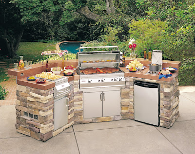 Another Must   An Outdoor Kitchen  Although The One Above Is Lovely