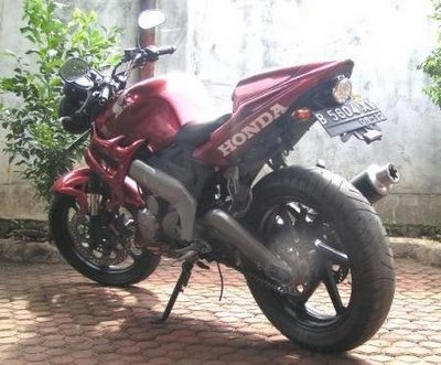 Honda Tiger Modification
